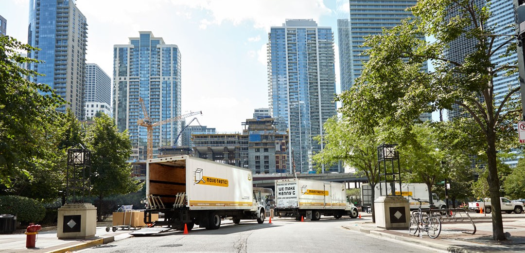 Whether you're moving, packing or looking for storage for your residential or company move in Chicago, Move-tastic! always brings the hustle!